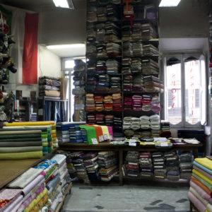 Fabric store, Bassetti1 Roma