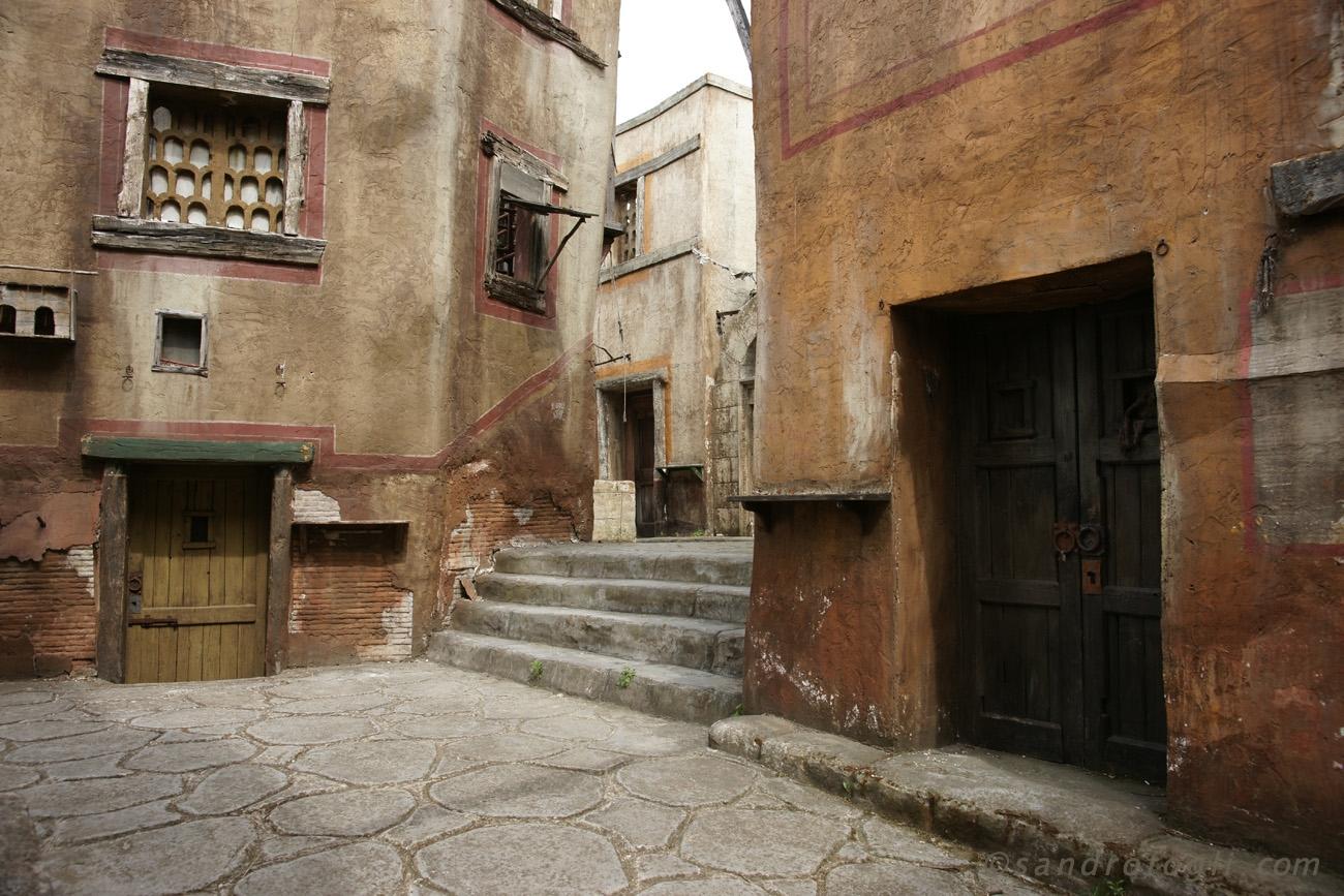 Set Roma a Cinecittà